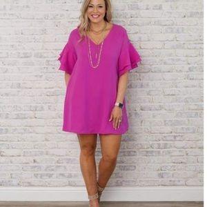 Dresses & Skirts - Davi & Dani pink dress